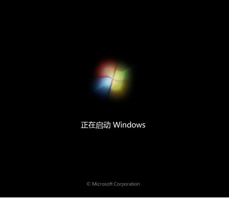 Windows7 开机画面